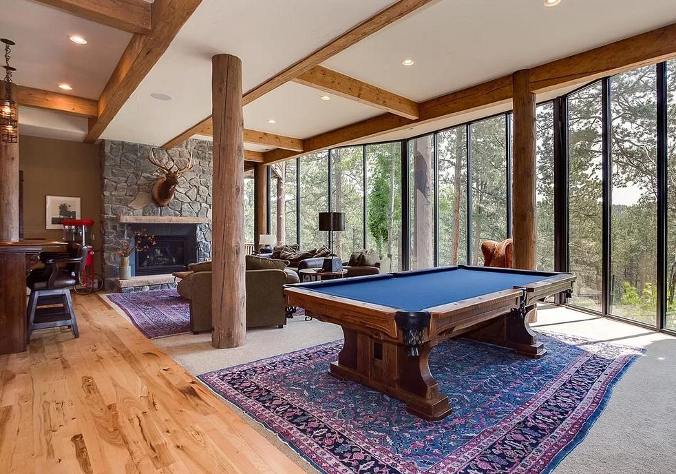 Pool Table/Living Room
