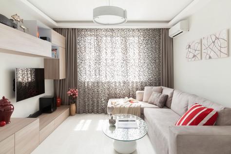 Дизайн московской квартиры на четверых
