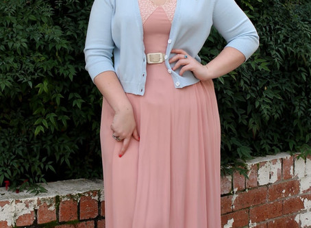 """Review - by Curve Creations Closet - """"Winter hues of blue"""" The Magic Thread Cardigans"""