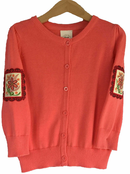 Little Ladies Bouquet Cardigan