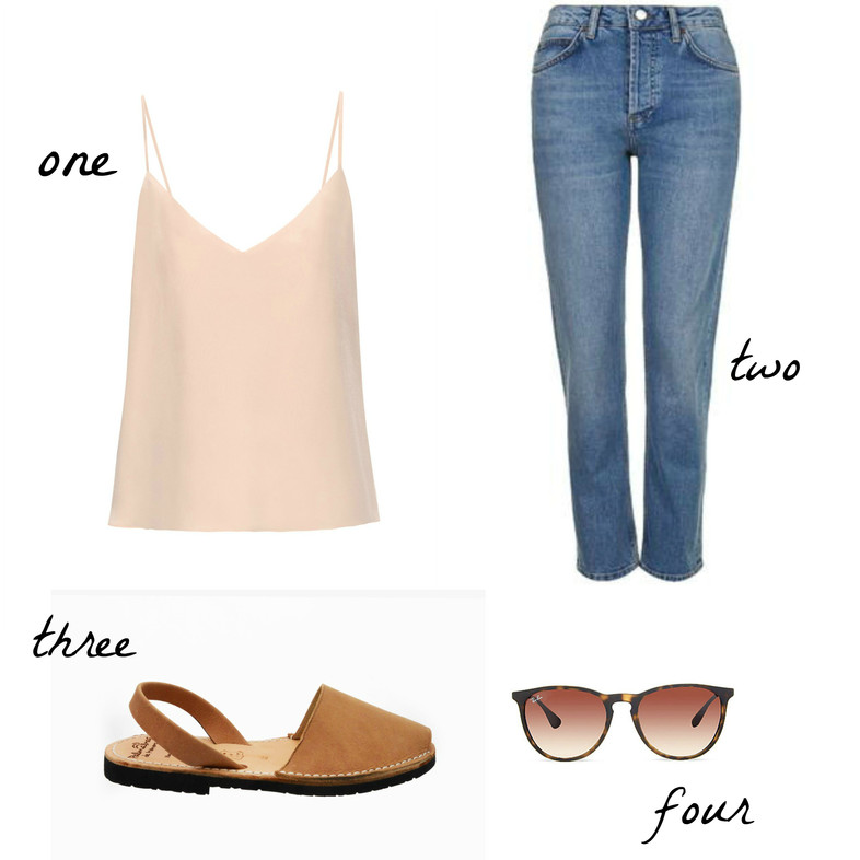 Simple summer four #3 How to wear jeans in the heat