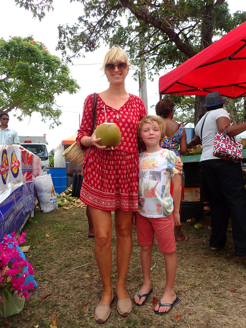 Caribbean day trip #4 Visit the Barbados Agrofest for local food and animal fun