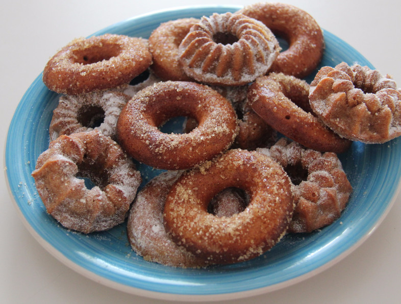 Eat in the heat: #2 Cinnamon doughnuts