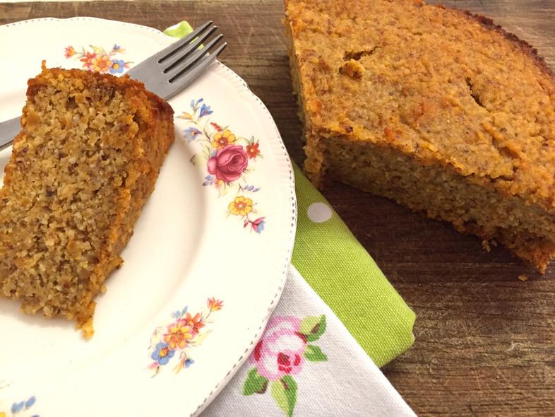 Eat in the heat #10 Orange and sweet potato cake
