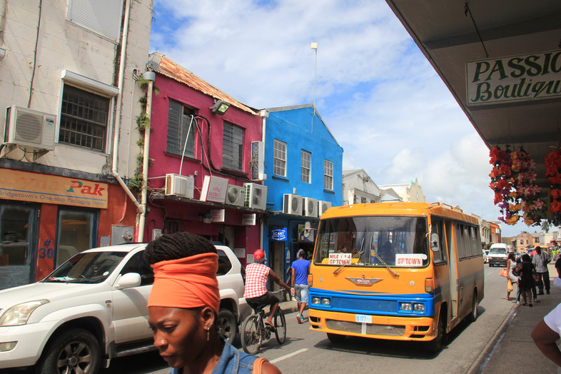 Caribbean day trip #1 What we saw in Bridgetown