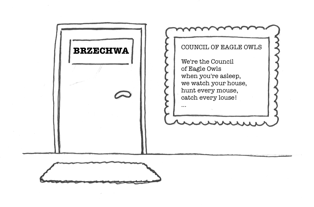 BRZECHWA owls