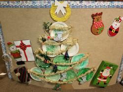 Children Made a Christmas Tree