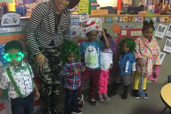 Spring Spirit Week was Dr. Seuss themed. We had a blast in our wacky clothes, hats and stories!