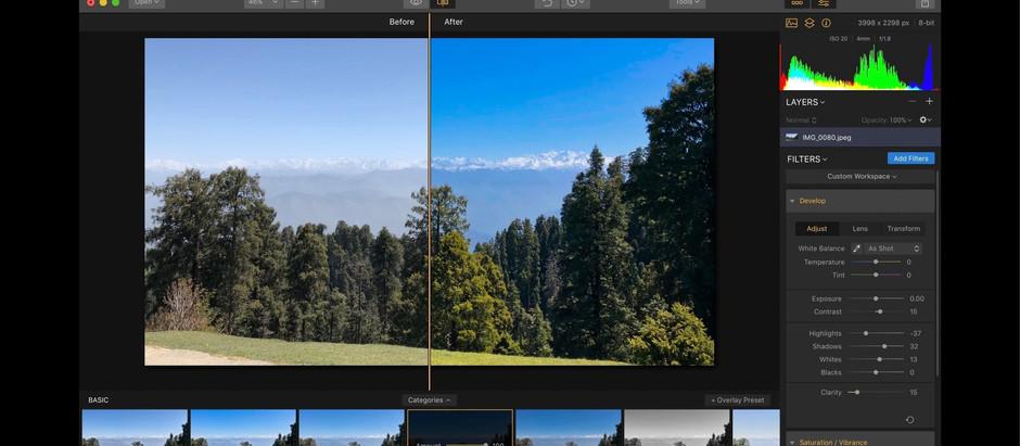 Top 5 photo editing software