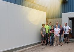 freezer building team