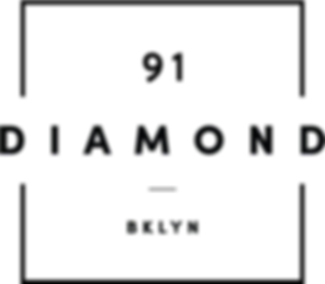 91 Diamond Logo - Inverted.png