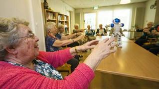 'Verpleeghuis geen schrikbeeld voor dementerenden'