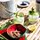 Thumbnail: Hand Painted Watermelon Calabash Bowl