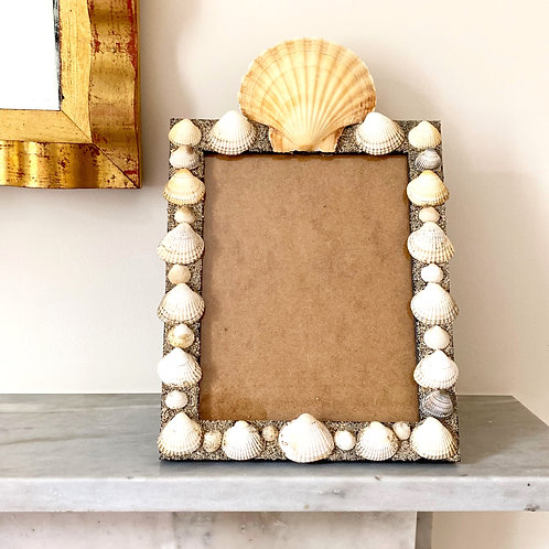 Shell Photo Frame