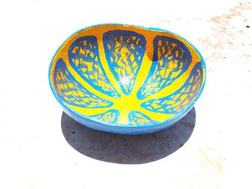 Lemon Calabash Bowl