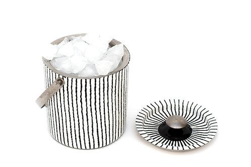 Zebra Ice Bucket