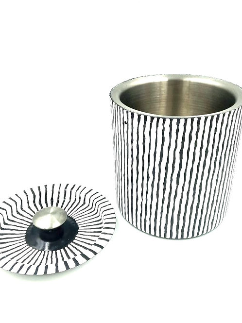 Zebra Ice Bucket