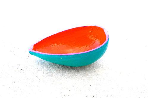Orange POP Sauce Bowl