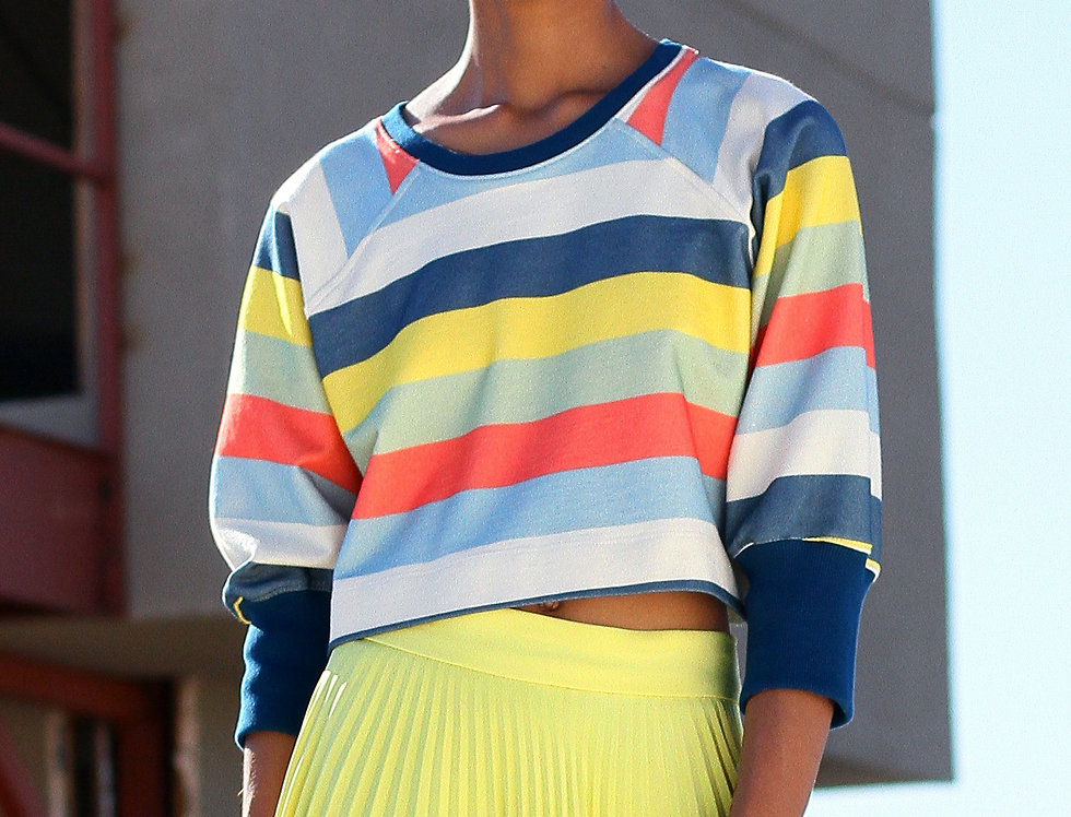 Six Stripe Sweatshirt