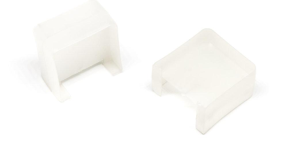 Соединитель для накладок ПВХ П-образный (40х20)