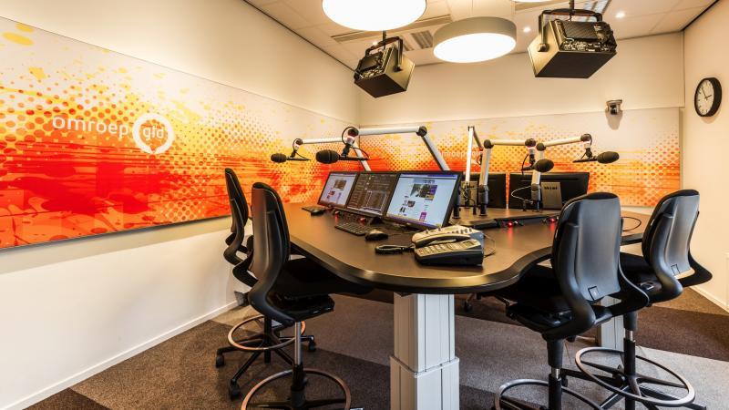 Radiostudio omroep Gelderland