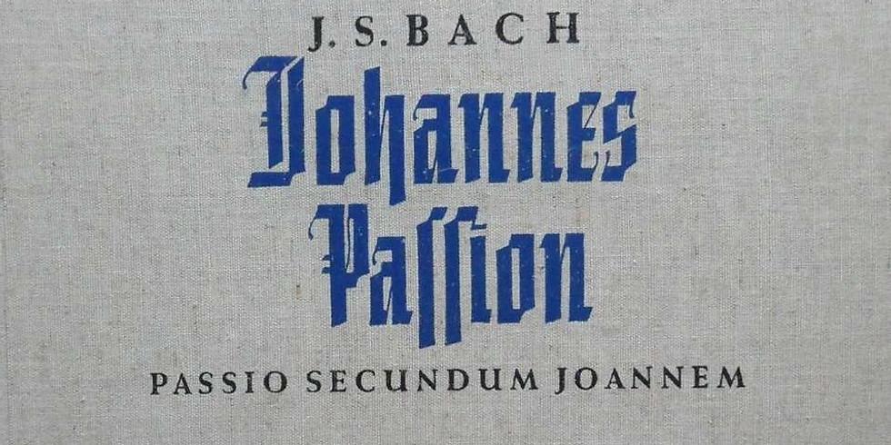 Luisterlezing: De Johannes-Passion van Bach