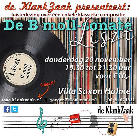 Muziek per stuk liszt Sonate Villa kln.j