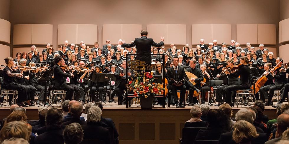 Concertinleiding Johannes-Passion van Bach