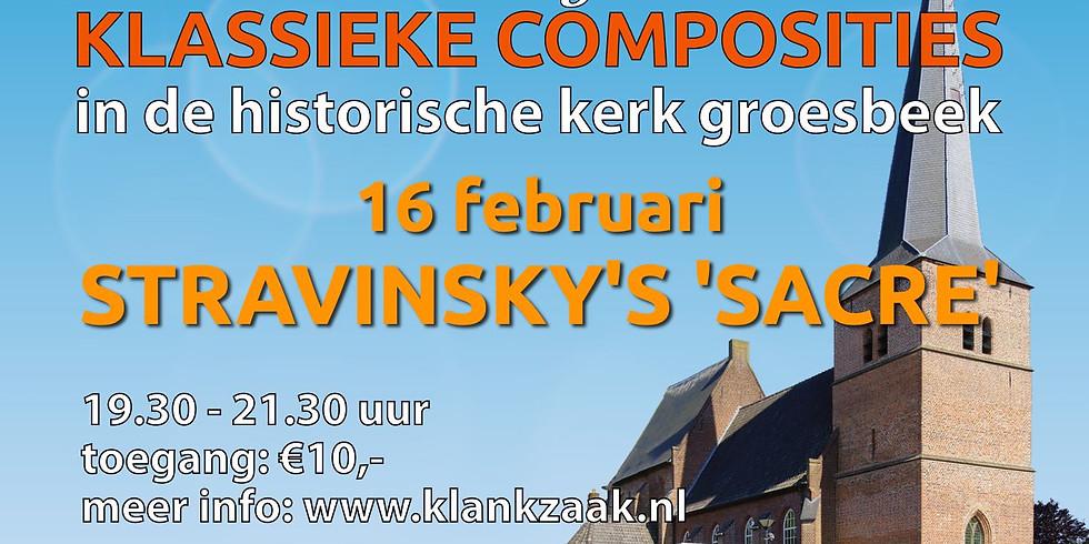 "Luisterlezing: Stravinsky's ""Sacre du Printemps"""