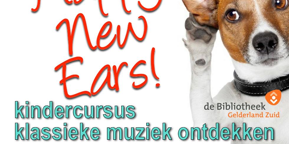 """Kindercursus: """"Happy New Ears!"""""""