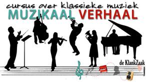 Cursus 'Muzikaal Verhaal' v.a. 24 januari