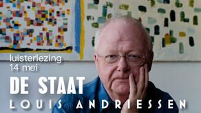 Luisterlezing 'De Staat' van Andriessen 14 mei