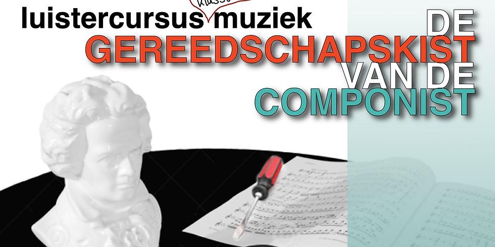 Cursus 'Gereedschapskist van de componist'