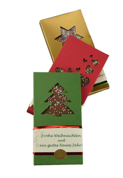 Weihnachtsschokoladen