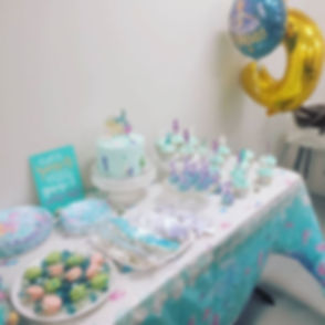 That's quite the cake table! Can you gue