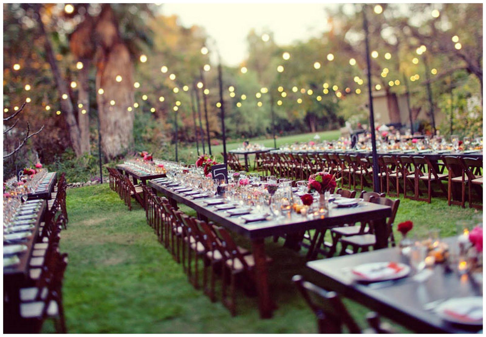 Garden Dinners & Picnics