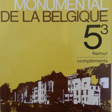«Le Patrimoine Monumental de la Belgique – Namur 5/3 – Compléments» - 5€