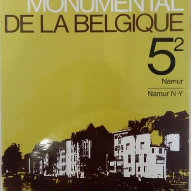 «Le Patrimoine Monumental de la Belgique – Namur 5/2 – N-Y» - 15€