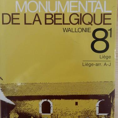 «Le Patrimoine Monumental de la Belgique – Wallonie 8/1 – Liège A-J» - 15€