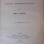 «L'ennui, étude psychologique» - Emile Tardieu - 20€