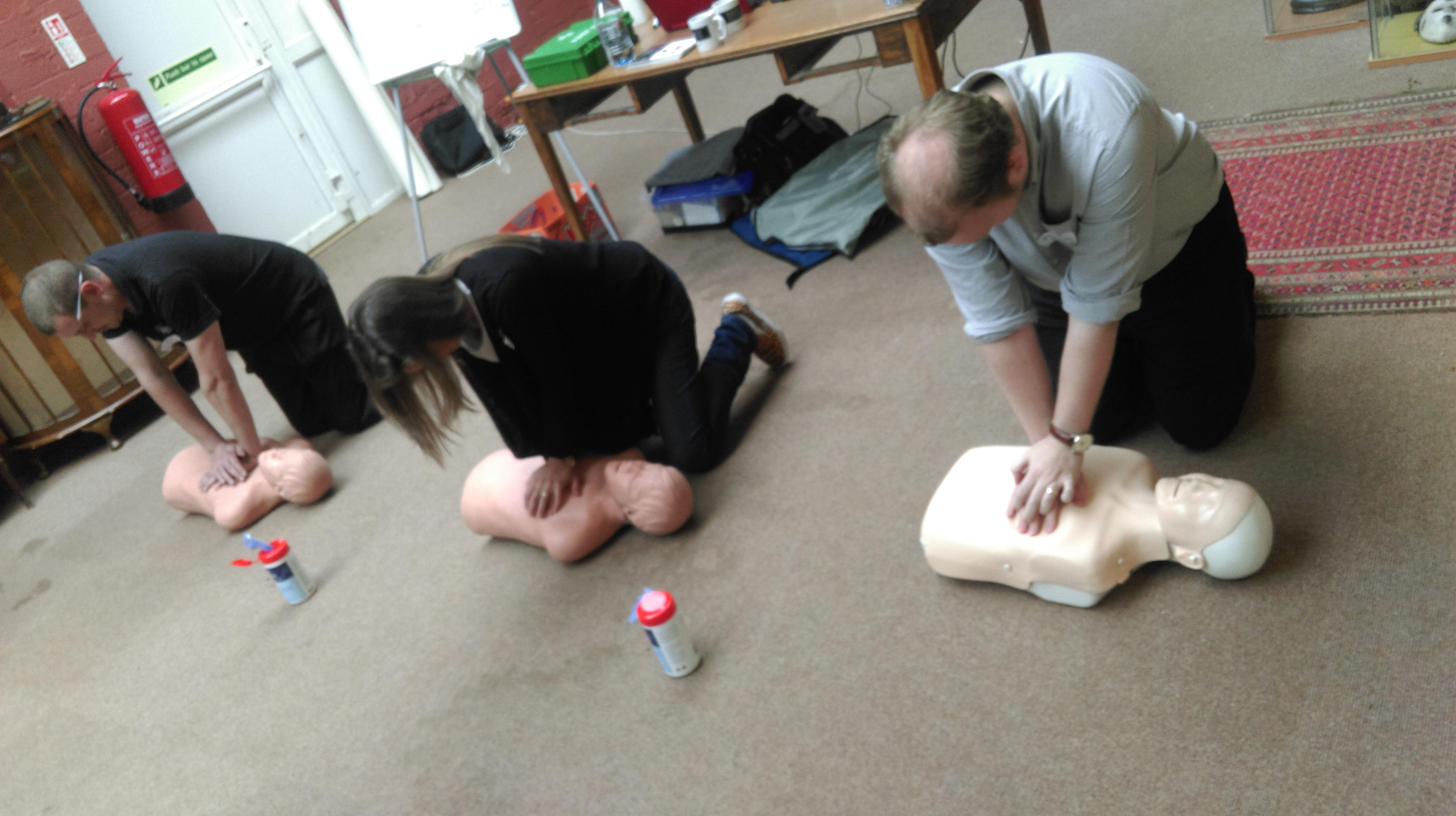 CPR emergency procedure