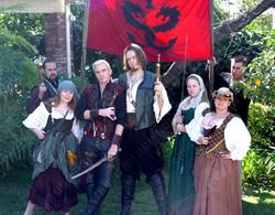 Red Dragon Pirate Crew