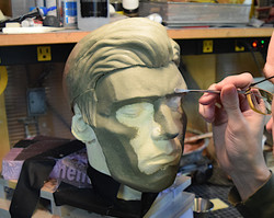 Sculpting a commercial prosthetic
