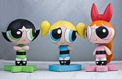 Powerpuff Girls Bobbleheads