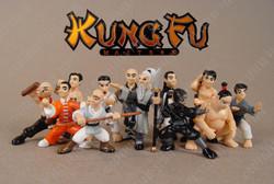 Micro Icons Kung Fu Mini Figures