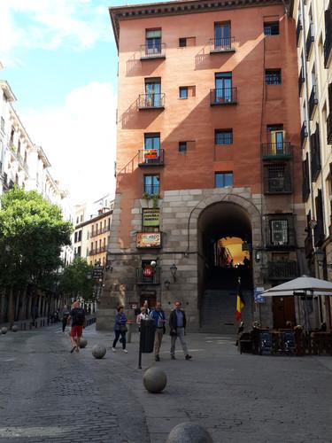 Madrid puerta Plaza Mayor