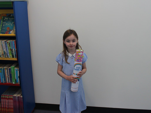 Winners of the Woodvale Time Capsule Competition! We plan to bury our capsules later in May.