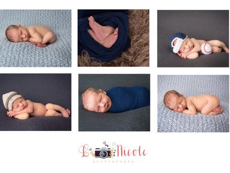 Baby Connor Richmond VA Newborn Photographer