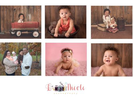6 Month Session |Richmond Newborn Photographer