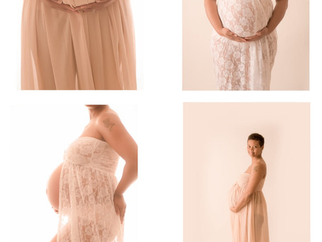 Studio Maternity Session| Richmond VA| L Nicole Photography